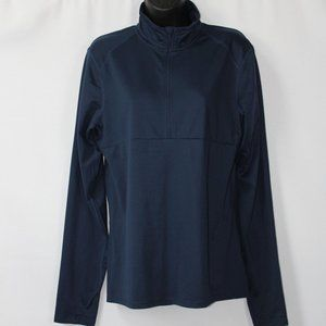 NIKE NAVY BLUE DRI-FIT PULLOVER